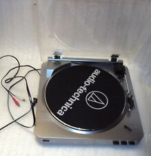 New listing Audio-Technica At-Lp60 Fully Automatic Belt-Drive Stereo Turntable, Silver