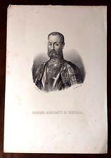 FADRIQUE, ALMIRANTE DE CASTILLA, litografía de Ronchi, ca. 1875