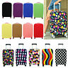 Elastic Print Luggage Cover Outdoor Travel Trolley Suitcase Dust Protect Bags