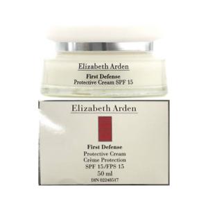 Elizabeth Arden First Defense Protective Cream 50ml SPF 15 Boxed & Sealed