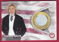 2018 Topps U.S. Olympic Team USA Memorabilia Pieces #TMCCW Charlie White