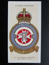 No.15 (TORPEDO BOMBER) 22 SQUADRON - R.A.F. BADGES with MOTTO - Players 1937