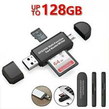TF Micro SD Card Reader Micro USB OTG to USB 2.0 Adapter for PC Tablet Mobile