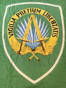 Supreme Headquarters Allied Powers Europe SHAPE Flag Vintage 285 x 150 very big