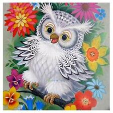 Lovely Owl 5D Diamond Painting Embroidery Cross Stitch DIY Craft Home Wall Decor