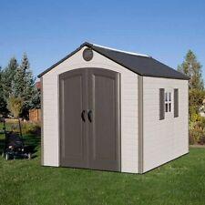 Lifetime 8' x 10' Storage Shed, 491.3 cu ft. of Storage Space, No Tax