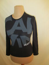 * t- shirt Calvin Klein Noir Taille S à - 51%