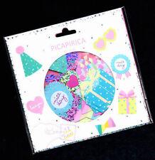 Q-lia Kawaii Picapirica Party Cake Sticker Sack Flakes Japan