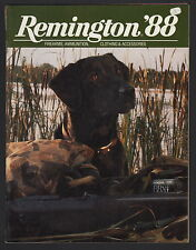 Remington Catalog - 1988 - Sticker On Front Cover