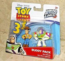 Disney Pixar Toy Story 3 Buddy Pack - Hero Woody & Hero Buzz Lightyear [NEW]
