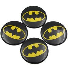 4Pcs/lot 55mm Batman Car Steering Wheel Center Hub Cap Cover Emblem Sticker