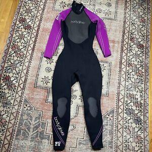 Body Glove Wet Suit Pro 2 Full Suit Women's 5/6 Fitted Black Purple