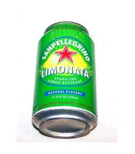 Vintage San Pelligrino Limonata Lemon Soda Pop Can A1+ Flat Zip Sign Coke Ofr