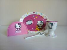 """Hello Kitty"" Childs Egg Cup Set"