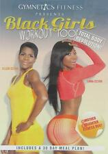 Gymnetics Fitness Presents Black Girls Workout Too DVD Used - Very Good W/ Case