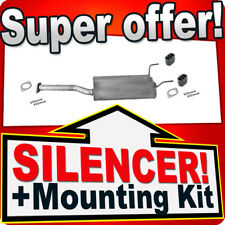 Middle Silencer SSANGYONG KYRON 2.0 XDi  and 2.0 XDi 4X4 Exhaust Centre Box W21