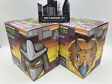 Shredder & Triceraton Bundle Teenage Mutant Ninja Turtles X Kidrobot Collectible