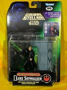 Star Wars - Power of the Force - Luke Skywalker Electronic FX (Italian Card)