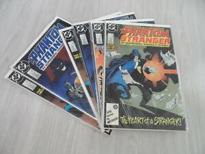 PHANTOM STRANGER #1 - #4 Four Issue Mini-Series. 1987 DC. Multiple copies