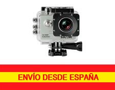 SJCAM SJ5000  sumergible 30 metros 14MP  PLATA Con Carcasa Acuática y Accesorios