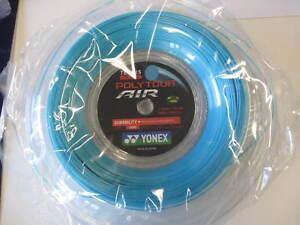 New Yonex Tennis String POLY TOUR AIR 200M Reel Blue PTA125-2 Made in Japan