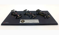 True Scale Miniatures TSM JPS Lotus 77/78/79 Set signed Mario Andretti F1 1/43+