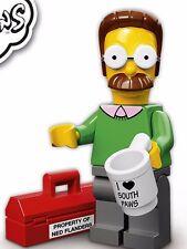 LEGO 71005 Simpsons Series 1 Minifigure Ned Flanders NEW