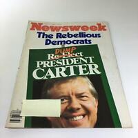 Newsweek Magazine: August 11 1980 - Dump President Carter