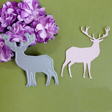 Little Deer Die Cutting Dies Stencil DIY Scrapbooking Album Card Paper Embossing