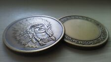 Chief in full headdress coin