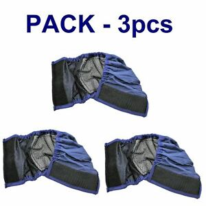 LOT 3pcs BELLY BAND Dog Diaper Male Absorbent LINING Small Medium Large XXS-XXXL