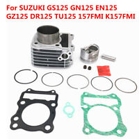 Motorcycle Cylinder Kit 62mm Big Bore For SUZUKI GS125 GN125 EN125 GZ125 DR125