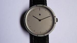 LIP Marc Held large vintage watch uhr handwinding NOS RARE