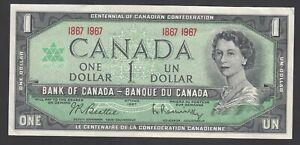Canada 1 Dollar 1967  VF  P. 84  Banknote, Circulated