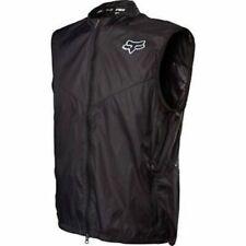 Fox Head Dawn Patrol Cycling Packable Lightweight Vest Black Size XXL New