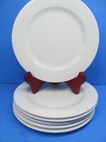 Christopher Stuart Optima CAFE WHITE HK104 Salad Plates Bundle of 6
