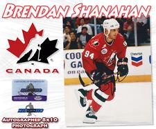 "BRENDAN SHANAHAN Signed TEAM CANADA OLYMPIC 8x10 PHOTO w/COA - ""NEW"""