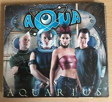 Aqua - Aquarius (Double Disc Far East Edition CD and VCD Video Disc) Collectible