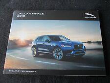 2018 Jaguar F-Pace Brochure Premium Prestige Portfolio R-Sport S Sales Catalog