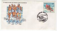 Queensland MORANBAH 1981 pictorial Surf Life Saving Clubs cancel on cover