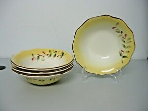 Better Homes and Gardens Tuscan Retreat Soup Cereal Bowls Set of 4