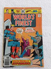World's Finest Comics #240 (Sep 1976, DC) Vol #36 Newsstand VG+