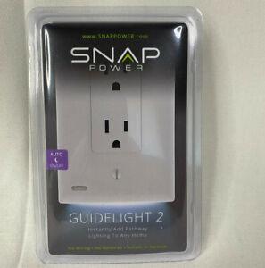 New SnapPower Guidelight 2 Plus White Socket Light