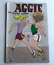 AGGIE . AGGIE EN PLEINE FORME . 14 . BD souple
