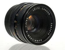 Leitz Canada Summicron-R 1:2/50 Objektiv für Leica R Mount - 36779
