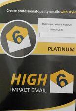 Correo de alto impacto-Diseño de correo electrónico profesional-totalmente Nuevo, información de imagen libre de +1 M