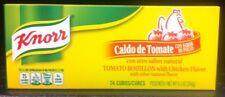 3 Boxes of 24 Cubes Knorr Caldo De Tomate. Knorr Tomato Bouillon Cubes