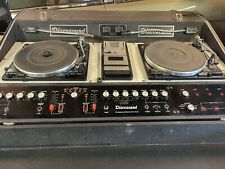 More details for dj discosound twin turntables + cassette