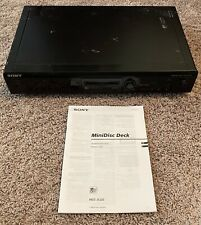 Sony Model MDS-JE320 Minidisc Player Home Audio Stereo Deck MD/MDP Manual Discs