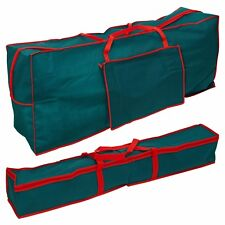 2 Sizes Artificial Christmas Tree Fabric Zip Up Storage Bag Lights Side Pocket